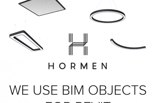 HORMEN is working with BIM objects for REVIT